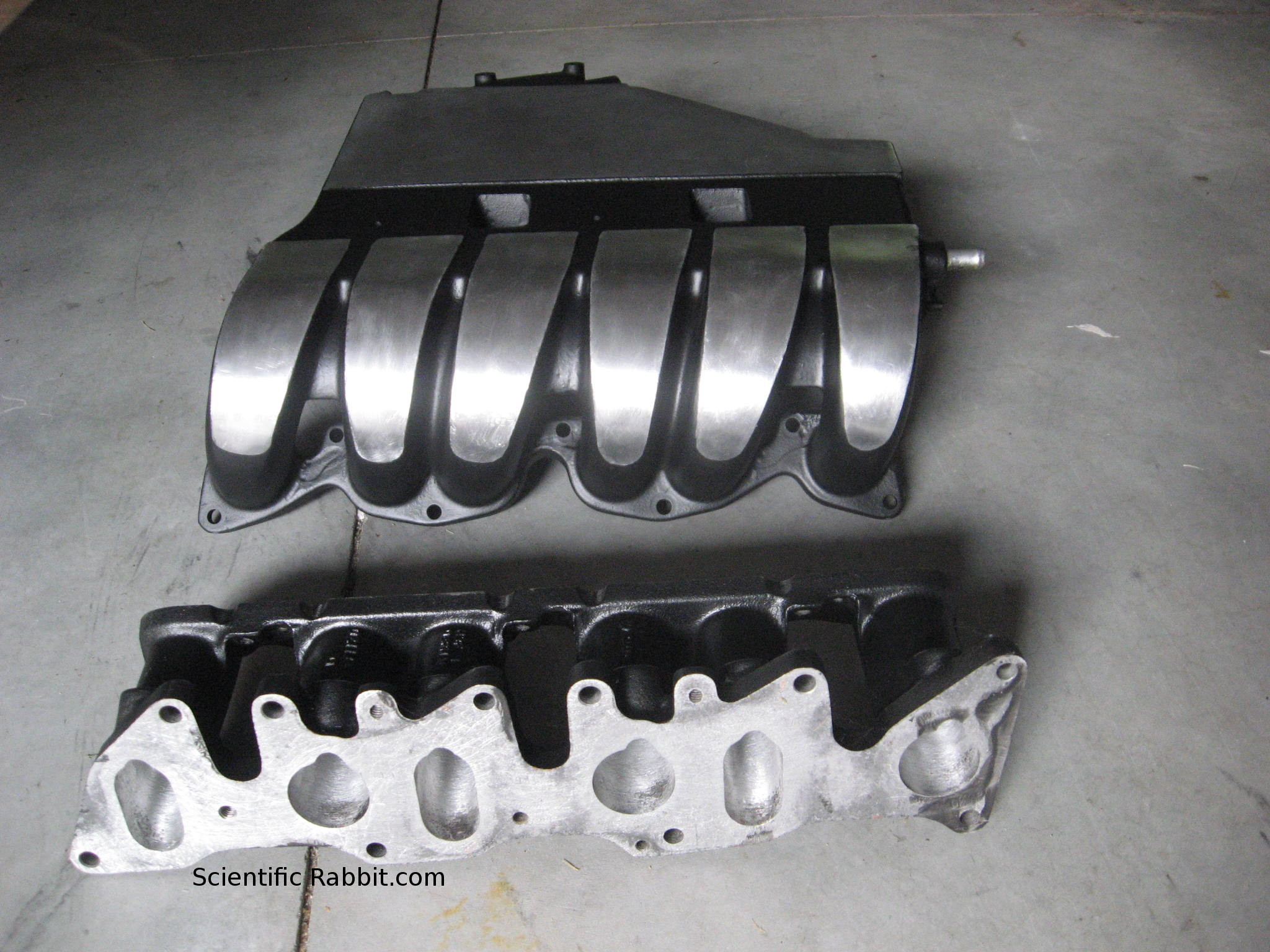 Super High Flow 12v VR6 Stage 3 Ported Intake Manifold